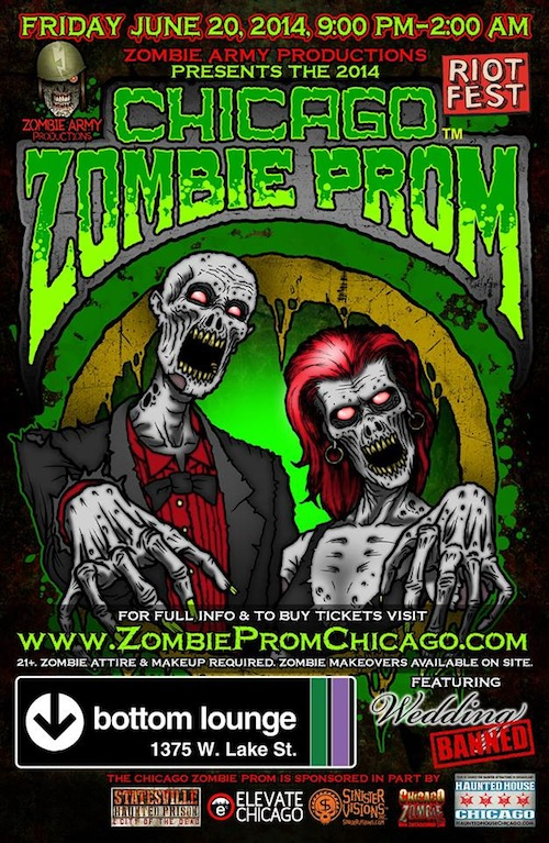 Weekend Events: Zombie Prom, Ghostbusters Exhibit, Svengoolie, and More