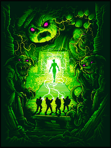 """Are You a God?"" by Dan Mumford"