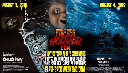Flashback Weekend Horror Con, 16mm Horror Classics, & More Weekend Fun