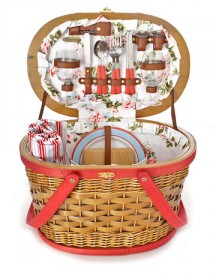 There is nothing like a cute and chic picnic basket. This one is like the Audrey Hepburn of picnic baskets. I lucked out once and found a vintage one at a garage sale. You never know! Photo credit: http://www.countryliving.com.