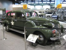 Free Parking for General Patton's Staff Car at 2012 Chicago Auto Show