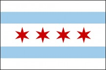 Happy 98th Birthday to the Chicago Municipal Flag
