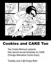 Cookies and CAKE Too: June 4th Two Cookie Minimum
