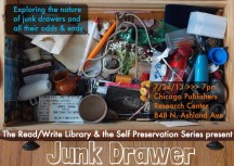 The Read/Write Library & the Self Preservation Series present Junk Drawer TONIGHT at 7pm