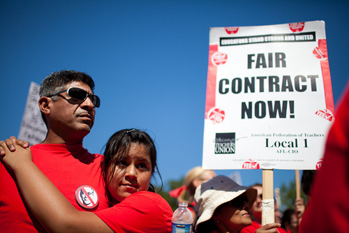 Chicago teacher strike: CPS files an injunction, slideshow on the rally