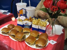 Make your Valentine's Day reservation....at White Castle
