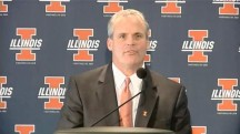 Illinois Coach Tim Beckman motivates players with food