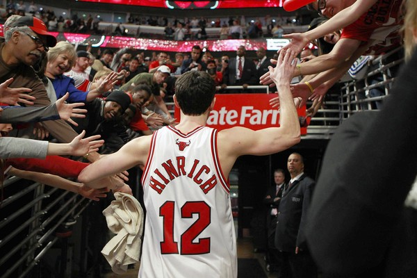 Kirk Hinrich healthy, starting for Bulls tonight