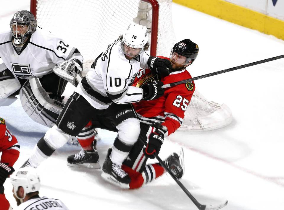 Blackhawks and Kings Schedule Set for Western Conference Final