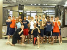 Whitney Young football takes to MMA Training