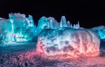 PHOTOS: Cool Ice Castles