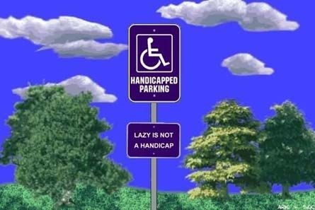 Handicap Parking Crackdown