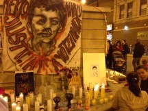 In Chicago, a vigil for missing students in Mexico