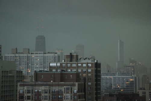 Dark skies over Chicago Aug 4 2012