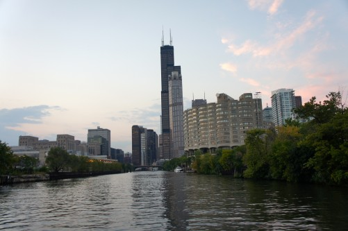 Chicago From A Boat IV