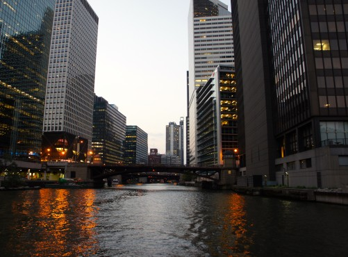 Chicago From A Boat VI