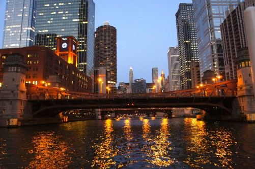 Chicago From A Boat VIII