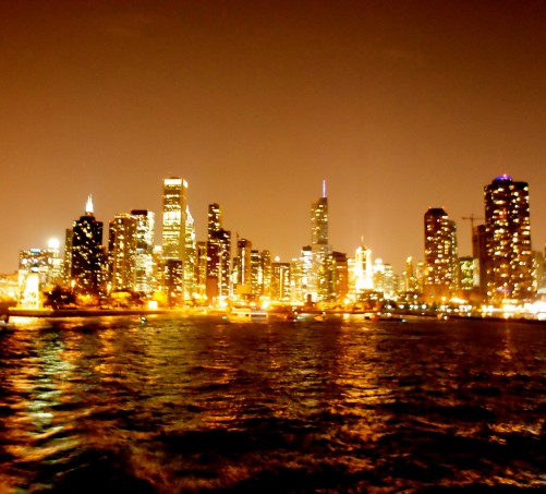 Chicago From A Boat XII