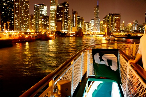 Chicago From A Boat XIX