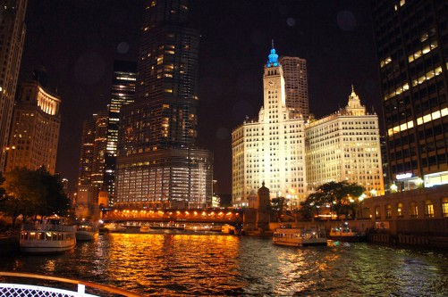 Chicago From A Boat XX
