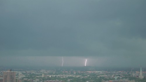 Chicago lightning west view Aug 4 2012