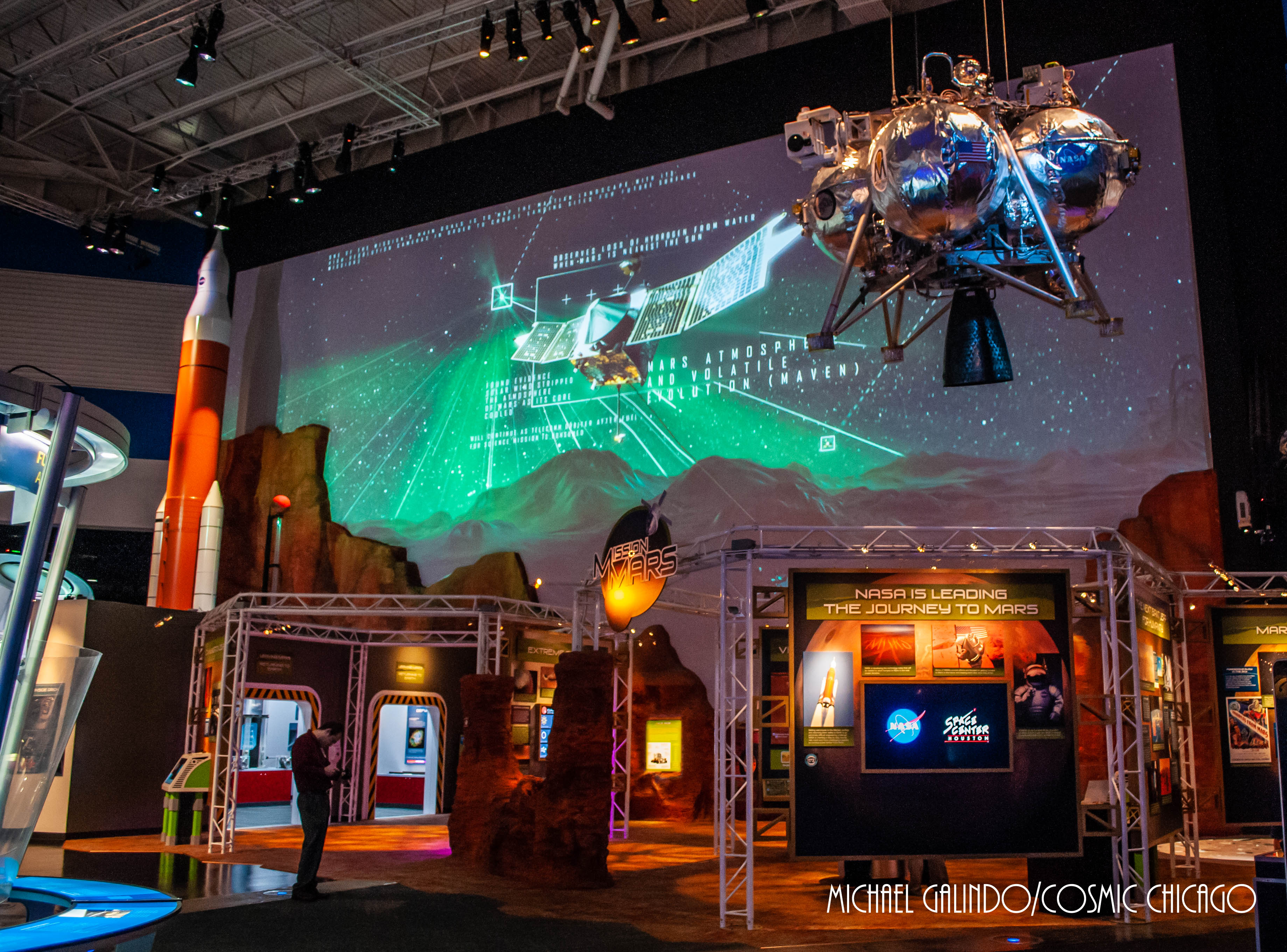 Mission Mars exhibit at Space Center Houston