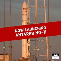 Watch the Next Antares Rocket Launch the NG-11 Mission