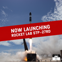 Watch the Next Rocket Lab Electron Launch of the STP-27RD Mission