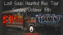 Appearance: Count and Countess Gregula Joining Lost Souls Haunted Bus Tour Day 3