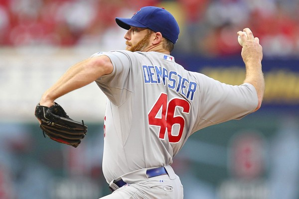 Cubs Trade Dempster to the Rangers for 3B prospect Villanueva and RHP Hendricks