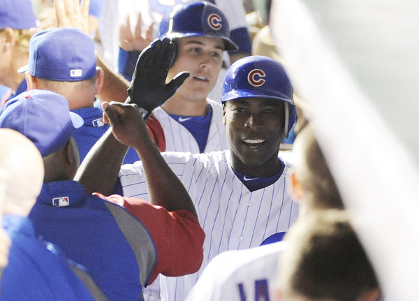 Cubs shopping Soriano. Phillies may be among potential buyers.