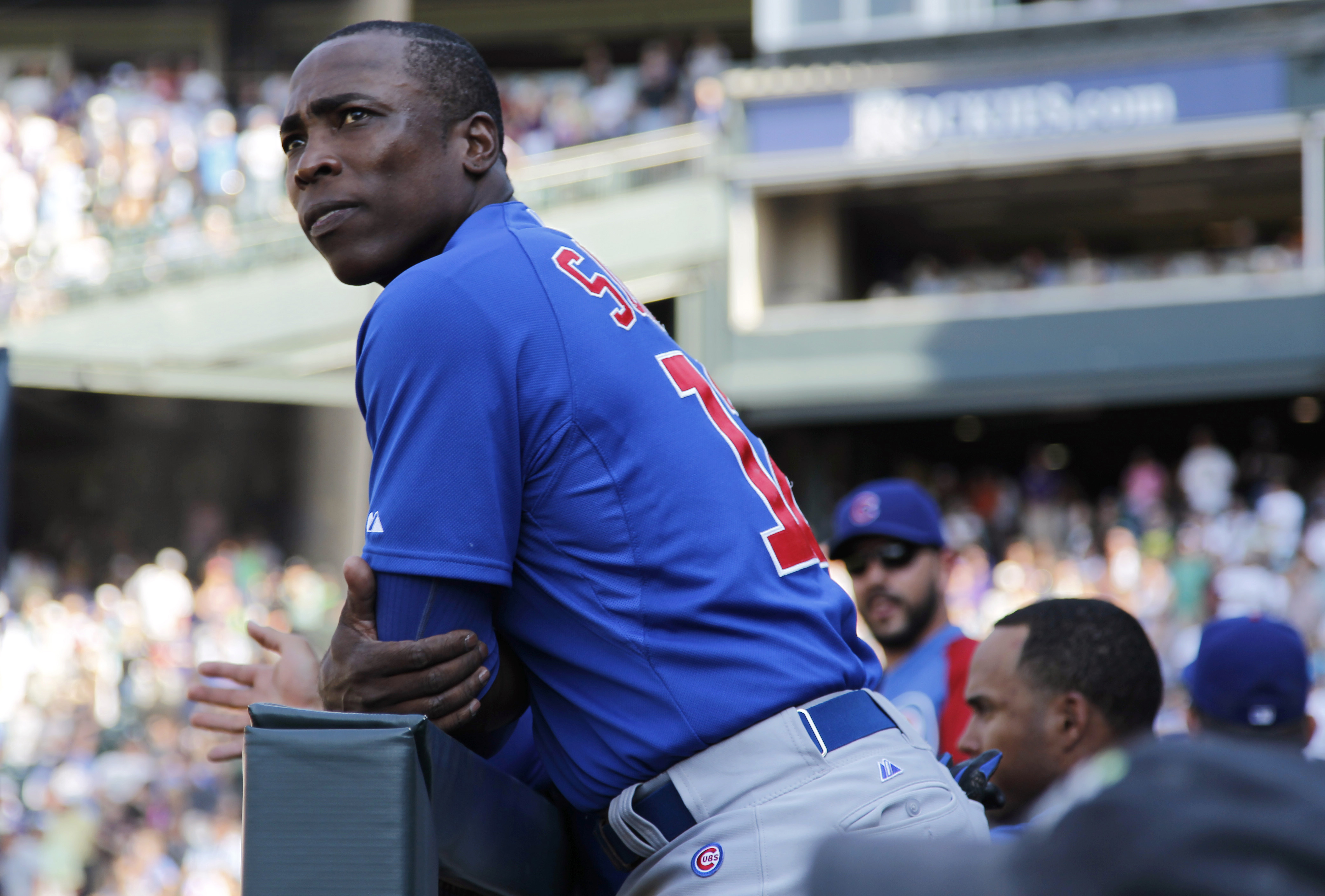 Soriano contemplating potential deal
