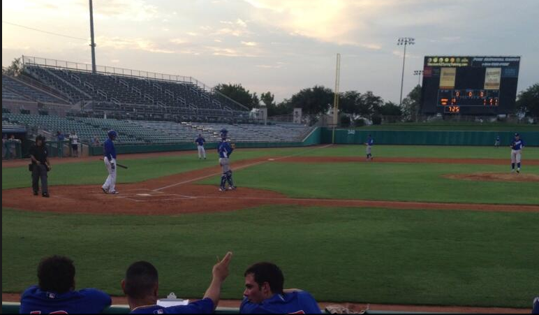 VIDEO: Kris Bryant's first pro hit -- an RBI double