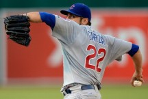 The hero of the day. Cubs 3 A's 1.