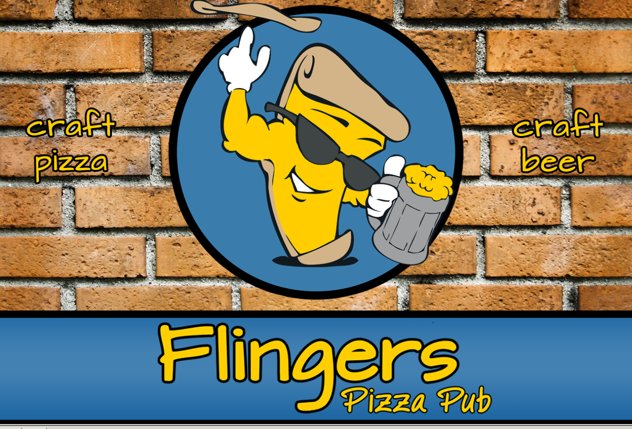 At Flingers Pizza, If You Blow A Keg, You Get A Pizza