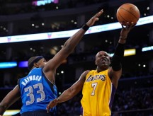 "Lamar Odom, 32, is a big player who can fill a number of roles and would be great on the Bulls. He's listed at 6'10"" and 230 pounds, which is big enough to play power forward, but he can handle the rock and create his own shot. He was traded to Dallas this summer and the move has been a failure by both the Mavs and Odom; he isn't happy, and his minutes are way down after being the NBA 6th Man of the Year. He's capable of putting up 15 points, 8-10 rebounds and 3-5 assists a night off the bench."