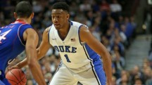 The 2014 NBA Draft could be dramatically impacted by a return to Duke by Chicago's own Jabari Parker, who would undoubtedly be a top-3 pick. In this first mock draft, we're saying he <strong>stays</strong> at Duke for a sophomore year.