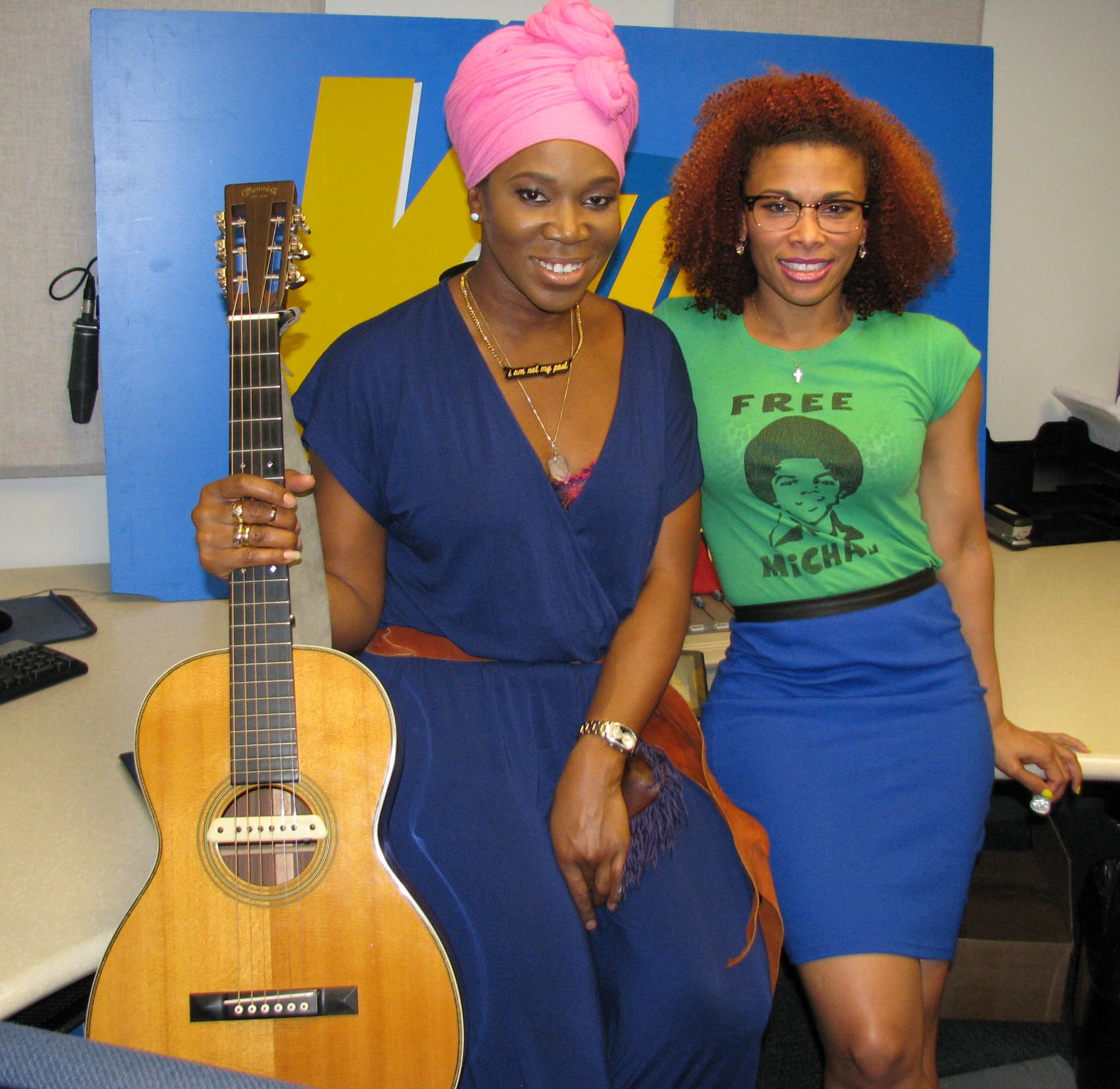 India Arie Talks New Music & More With Connie At Chicago's V103