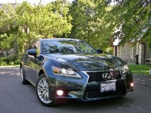 The re-designed for 2013 Lexus GS350 with all-wheel drive. Gothic is out. Modernism is in.