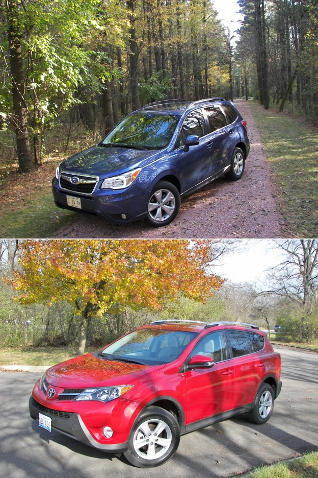 2014_DHS_Compact_CUV_Comparo_Subaru_Forester_Toyota_RAV4_ext001
