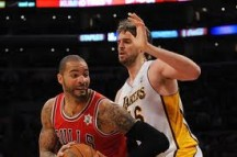 Trade Luol Deng and Carlos Boozer for Pau Gasol and Metta World Peace