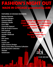Made In Chicago presented by AIBI:Fashion's Night Out