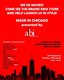 Made In Chicago AIBI Launch Party