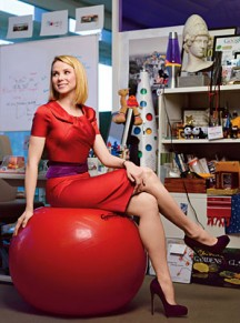 Best Advice EVER for CEO/Mom-to-Be Marissa Mayer