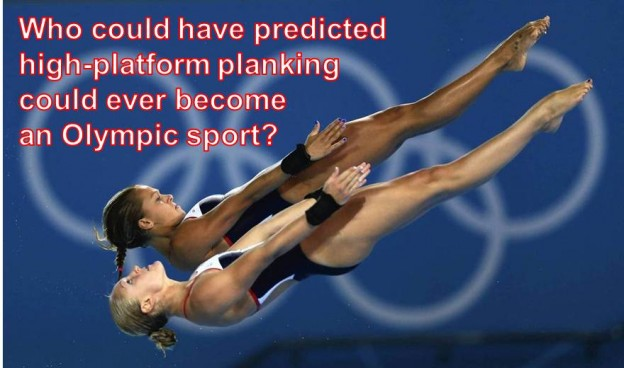 Copy of London 2012 Olympics synchronized diving planking funny