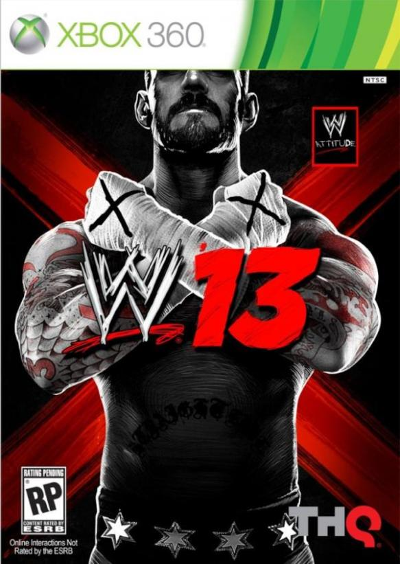 Chicago's CM Punk To Grace The Cover Of 'WWE 13'