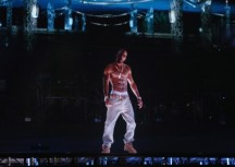 Virtual Tupac performs at Coachella Music Festival 2012. Photo: Christopher Polk - Getty Images