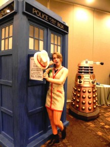 Katherine shows us her Femme Fifth Doctor from Doctor Who.  Would you like to see a canon, female regeneration in the Whoniverse?