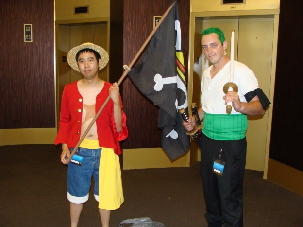Characters from One Piece