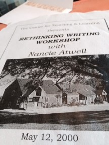 "Outstanding educator Nancie Atwell lands in the middle of a controversy over this country's ""business model"" of schooling"